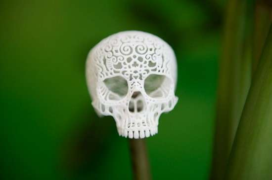 60 Pieces of Super Scary Skull Art
