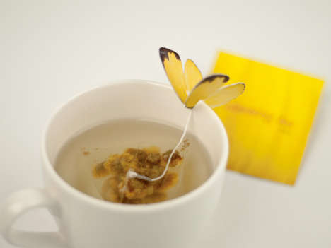 Beautiful Winged Teabags