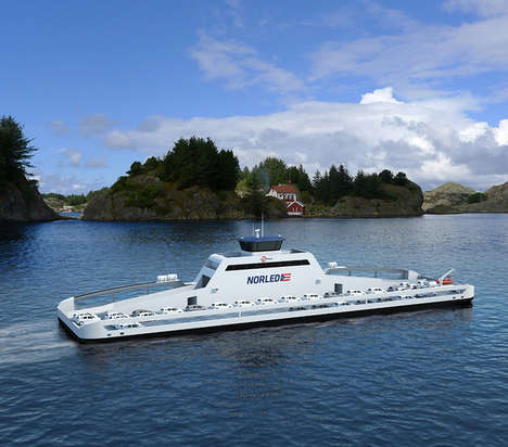 Eco-Friendly Norwegian Ferries