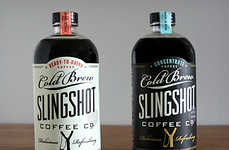 Heart-Healthy Ice Coffee - Slingshot Cold Coffee Brew is for the Caffeinated Beverage Connoisseur