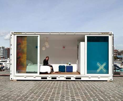 Traveling Container Hotels
