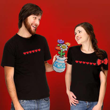 Geeky 8-Bit Bouquets