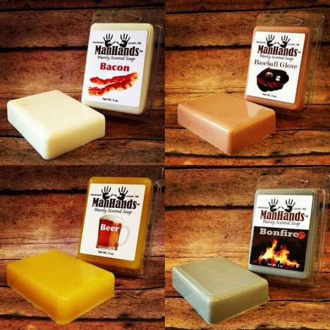 Manly Scented Soaps