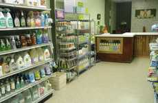 Sustainable Cleaning Supplies - 'It's All About Green' is a Shop That Promotes Recycling