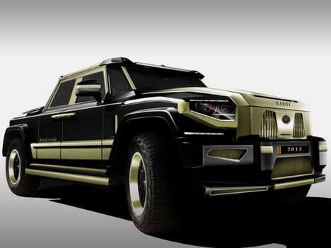Lavish Reptilian SUVs - The Dartz Black Snake Edition is for China's Wealthiest Class