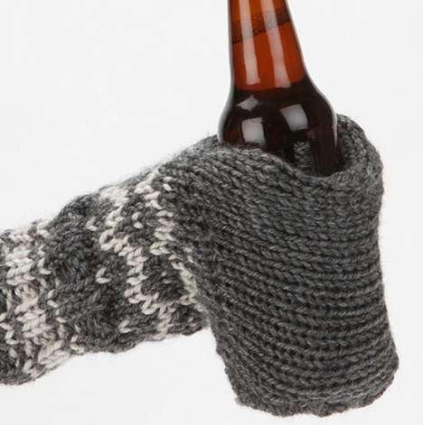 Bottle-Holding Hand Cozies