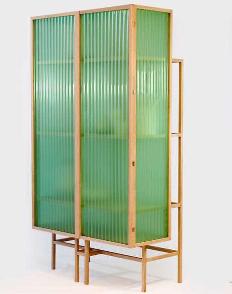 Subtly Transparent Cupboards