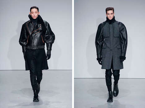 Exaggerated Military Couture