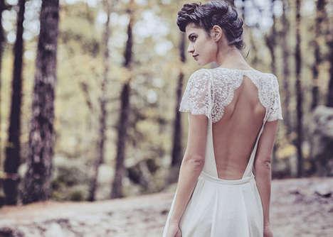 Elegantly Detailed Lace Dresses