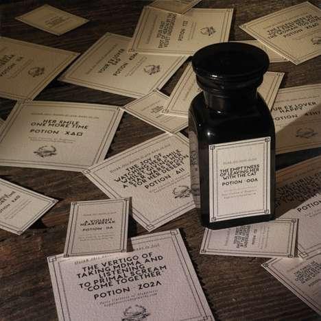 Nostolgic Memory-Labeled Bottles