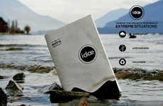 Climate-Proof Scratch Pads - The Idae Journal is Intended for Documenting Extreme Adventures