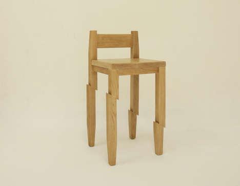 Katana-Sliced Seating