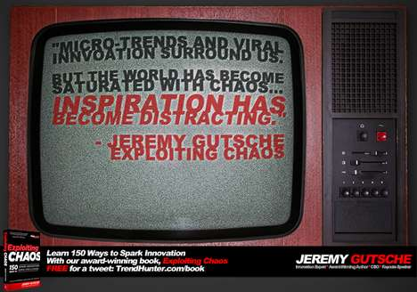 Inspiration Has Become Distracting - Trend Expert Keynote Speaker Jeremy Gutsche on Trend Tracking