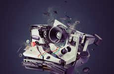 Demolished Technology Photography