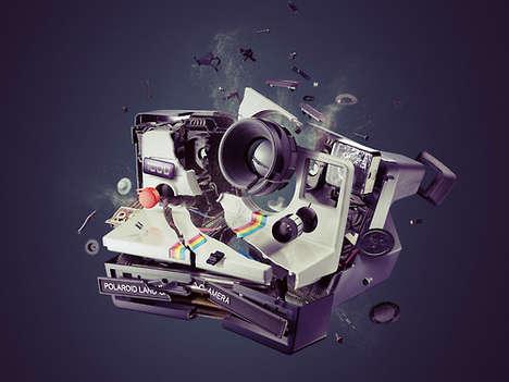 Demolished Technology Photography