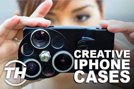 Creative iPhone Cases - Shelby Walsh Shares Custom Smartphone Cases to Make an Impression