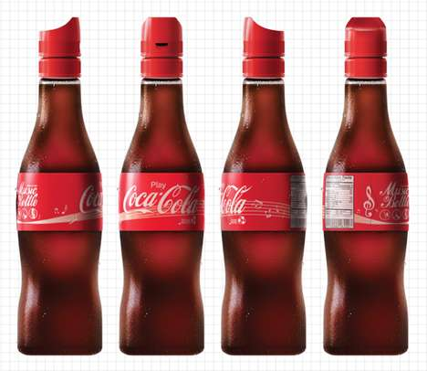 Musical Soft Drinks - The Coca-Cola MusicBottle is an Inexpensive Hobby for Underprivileged Children