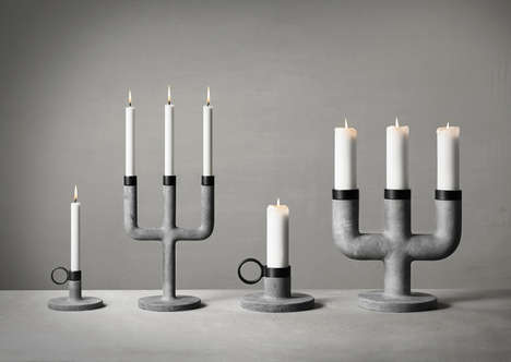 These Solid Candelabras from KiBiSi are the Ultimate Urban Home Accessory
