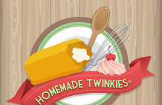 Homemade Pastry Infographics - The Twinkie is Alive and Well with Macy's Homemade Twinkie Recipe