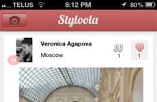 Stylishly Adjoined Smartphone Tools - The Styloola Application Merges Social Media Via Fashion