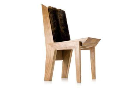 Furry Folding Seating