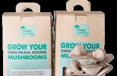 Fungi Growing Kits - The Fungi Culture Kit Lets You Grow Pearl Mushrooms at Home