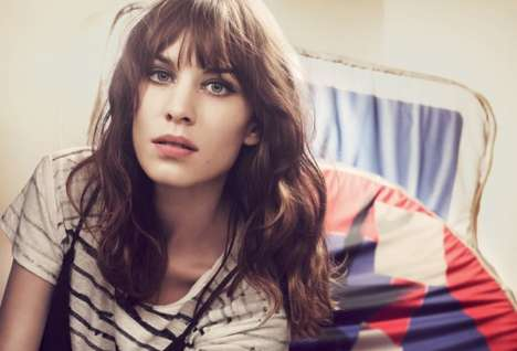 The Maje Spring 2013 Campaign Recruits Alexa Chung