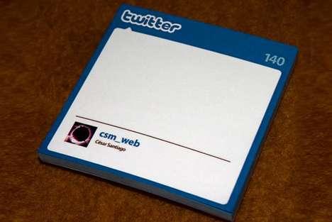 Tweet-Worthy Notepads