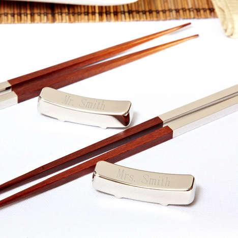 Elegantly Engraved Chopsticks