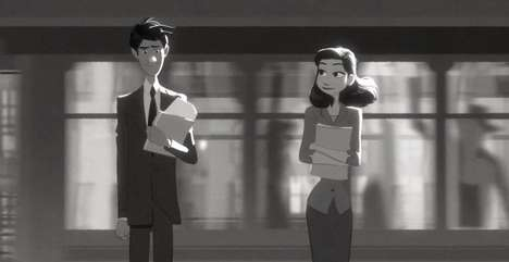 Romantic Pencil-Pushing Animated Shorts