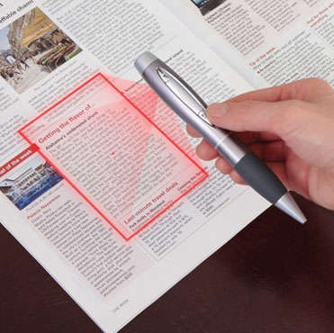 Handheld Document Scanners - This Pen Puts a High Resolution Scanner in Your Pocket