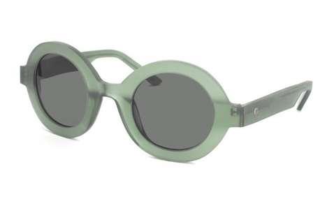 Retro Skeletal Sunglasses