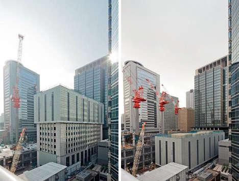 Socially Conscious Shrinking Buildings