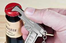 Gun-Shaped Bottle Openers - The Conceal and Carry Bottle Opener Will Pop Your Cap Right Off