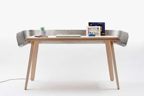 Metal Moat Desk