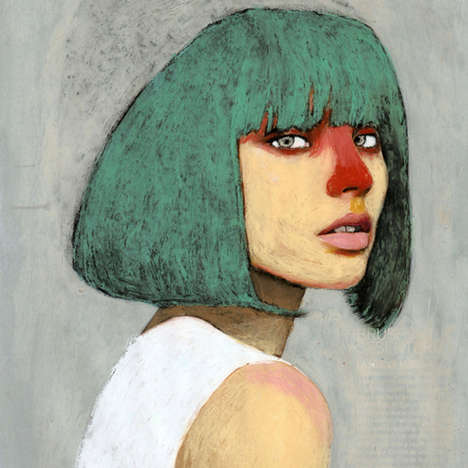 Distorted Facial Portraits (UPDATE)