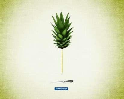Pencil-Thin Produce Ads
