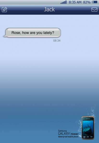 Waterproof Phone Ads