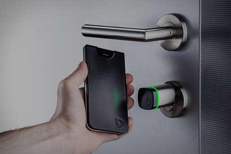 Door-Unlocking Smartphone Protectors