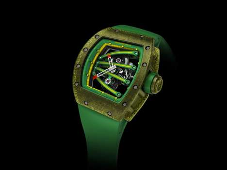The Richard Mille RM 59-01 'Tourbillon' was Made For Yohan Blake