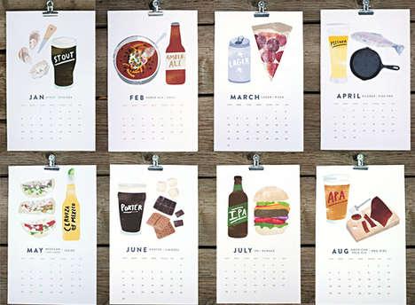 Macho Manly Consumption Calendars