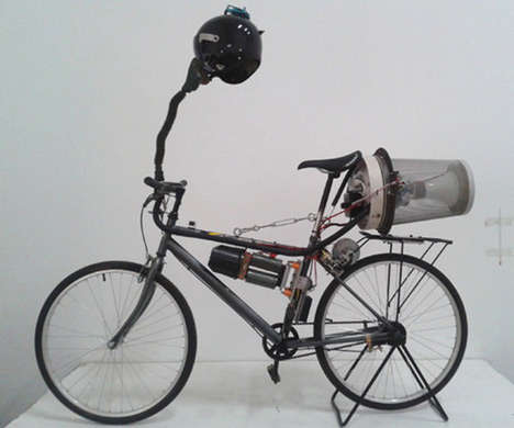City Air-Purifying Bicycles