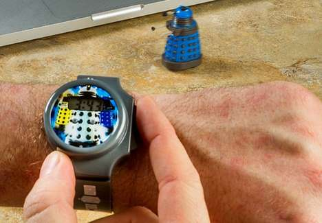 Robot Controlling Watches