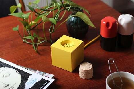 Neon Plug Speakers