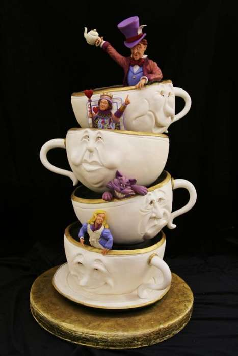 Teetering Teacup Confections