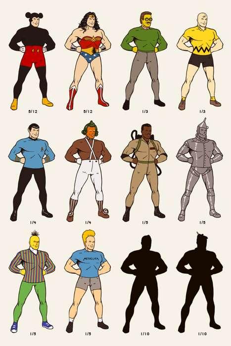 Eclectic Superhero Illustrations