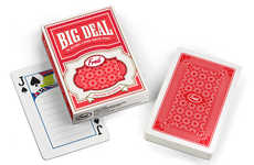 Note-Taking Card Decks - The Big Deal Note Pad is Perfect for Those Who Love Card Playing