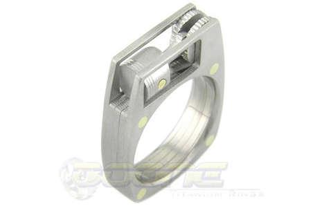 Piston-Comprised Rings