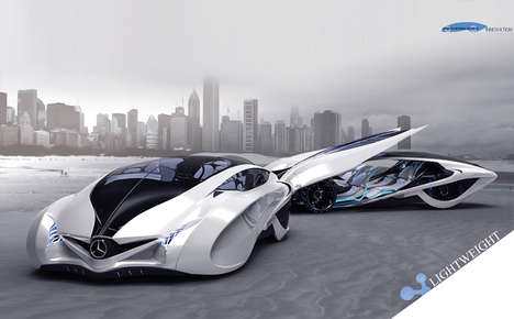 Streamlined Family Sports Cars