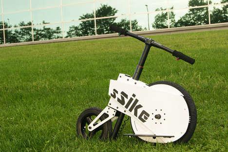 Hybrid E-Bike Scooters